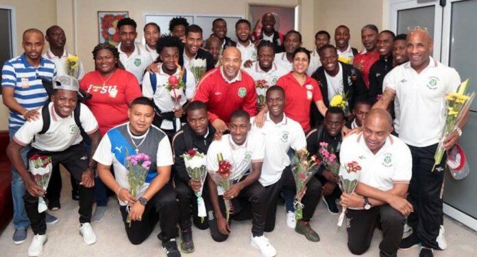 Eerste wedstrijd NATIO in 2020 tegen Grenada op 28 maart
