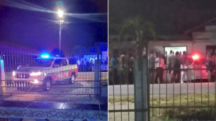 Politie geeft bezoekers drukbezocht feest waarschuwing