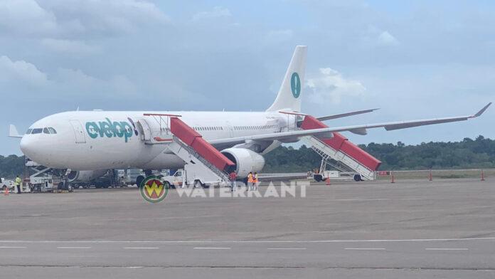 Vertraagde SLM vlucht vertrekt vanavond alsnog uit Suriname