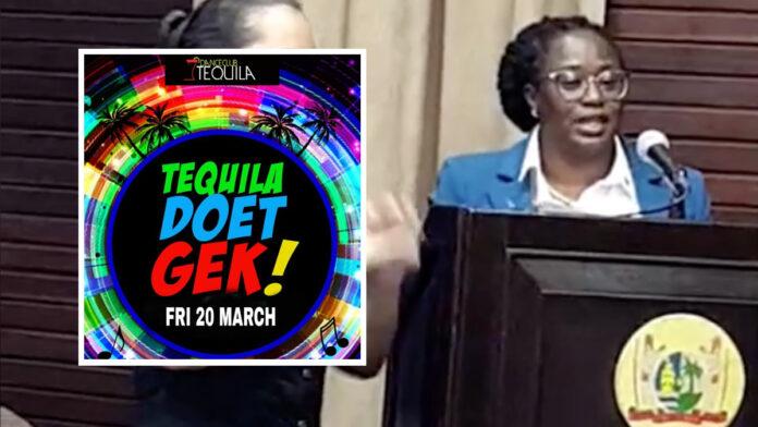 VIDEO: Luitenant-Kolonel waarschuwt feestgangers die naar 'Tequila Party' willen gaan