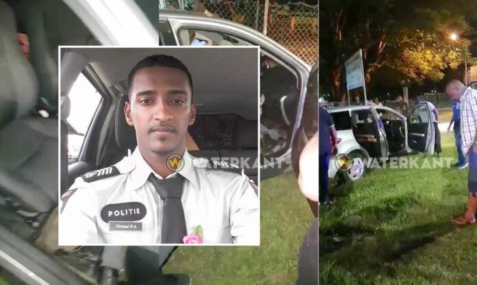 Agent overleden bij verkeersongeval suriname
