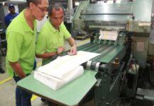 Biza geeft startsein voor drukken oproepingskaarten