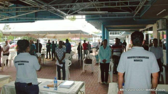 Hoofdstembureau houdt sessie met politieke partijen Wanica