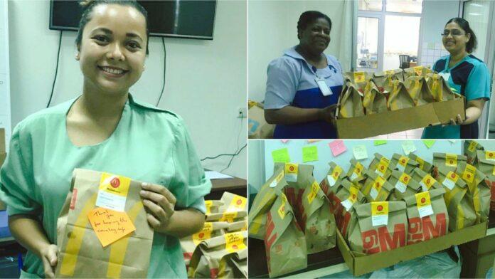 McDonald's Suriname bedankt werkers in zorgverlening voor inzet
