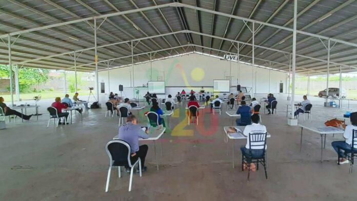 Personeel hoofdstembureaus van alle districten getraind