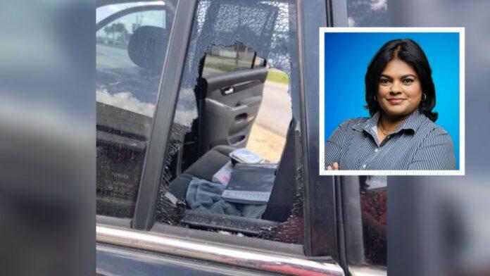 Voor de derde keer ingebroken in voertuig VHP-parlementariër Mathoera