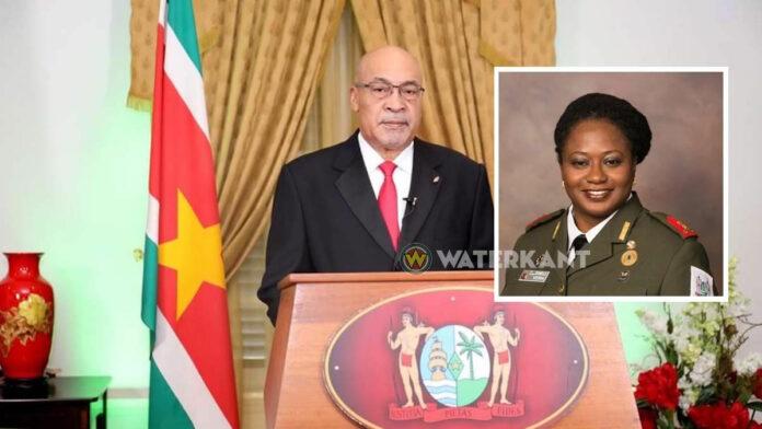 Bijzonder COVID-19 statement van president Bouterse en DNV directeur Veira
