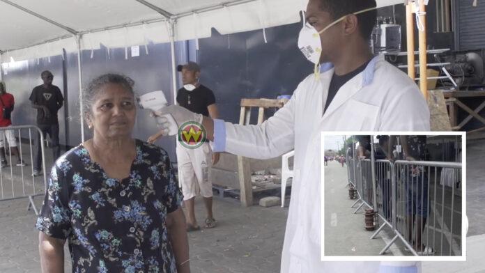 VIDEO: Chotelal treft COVID-19 voorzorgsmaatregelen na kritiek