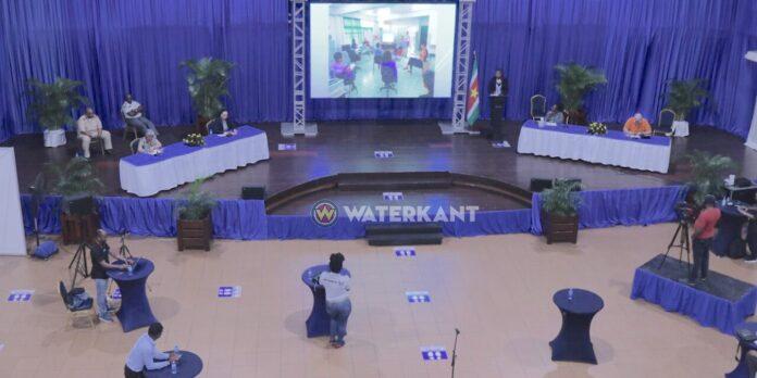COVID-19 persconferentie in Suriname nu drie keer per week