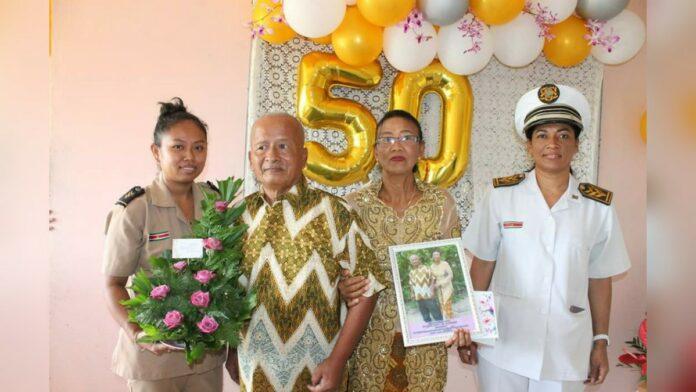 echtpaar atkowiredjo-modiwirijo 50 jaar getrouwd suriname
