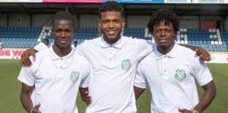 Spelers van Natio Suriname trainen thuis vanwege coronavirus