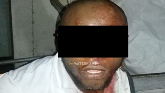 Verdachte die 3 mannen met mes stak zelf ook gewond na verzet tegen aanhouding