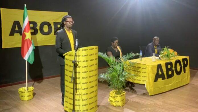 ABOP organiseert eerste online massameeting in Suriname