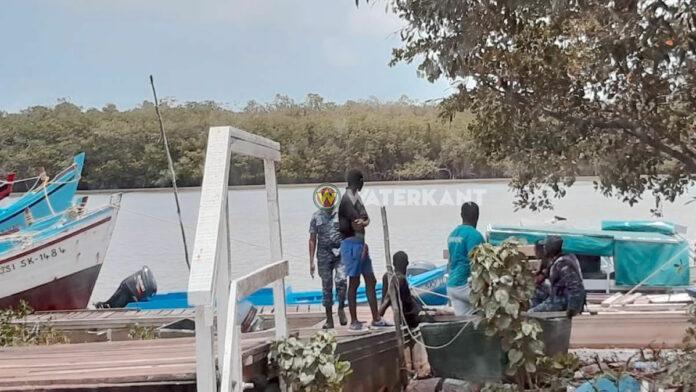 Mannen die goederen Suriname in wilden smokkelen aangehouden