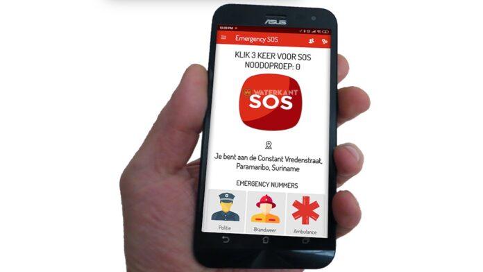 Suriname krijgt SOS-app voor noodgevallen