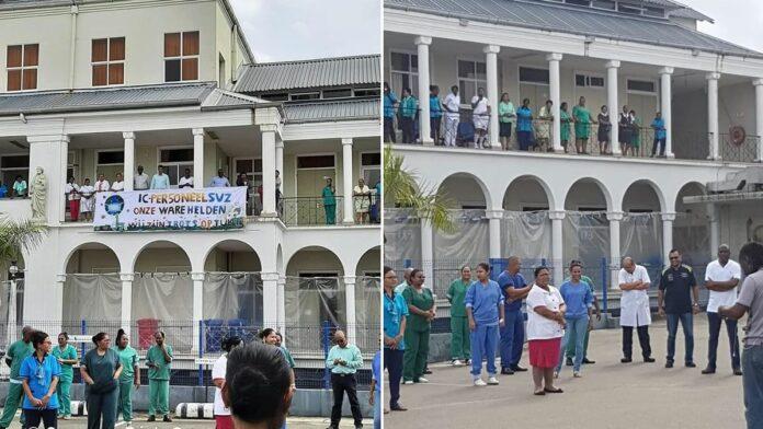 St. Vincentiusziekenhuis brengt hulde aan Intensive Care personeel