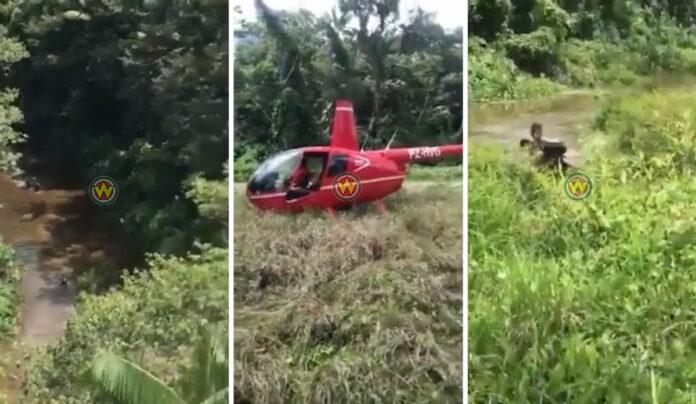 Jongens in bos verdwaald nadat ze sporen van watervarken volgden