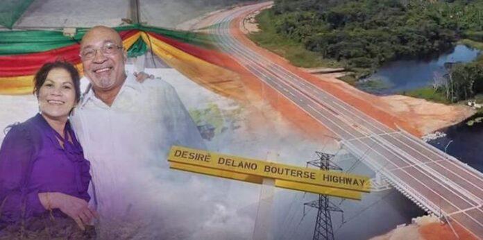 Desiré Delano Bouterse Highway Suriname