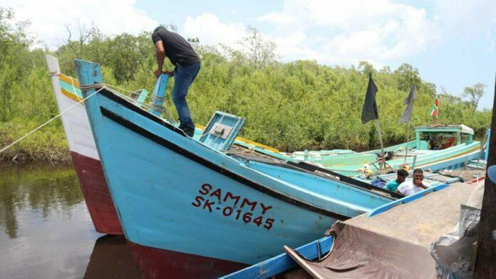 LVV voert reguliere inspecties uit bij vissersvaartuigen
