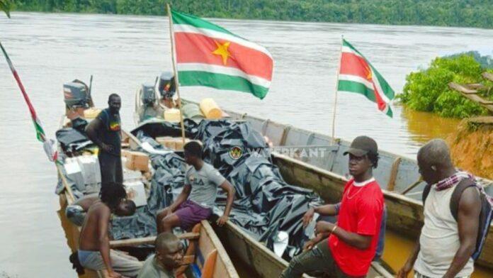 Regering Suriname gestart met voedselvoorziening in binnenland