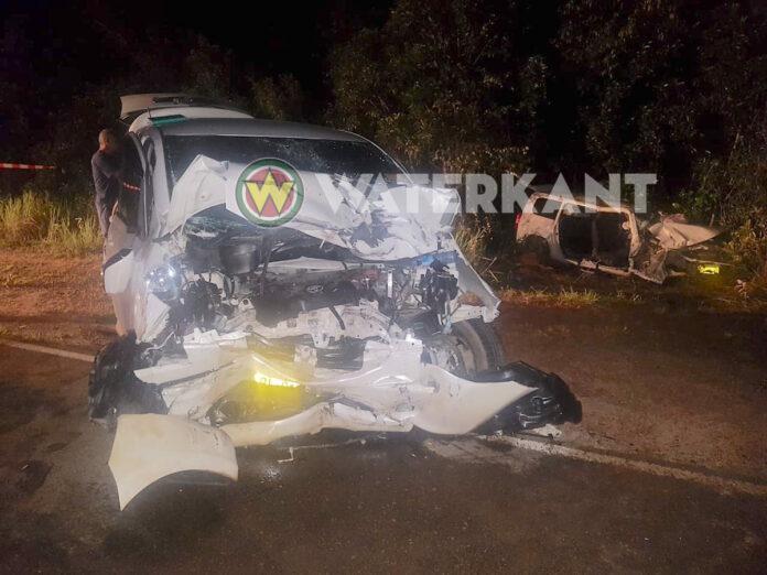 Auto met leden van politieke partij A20 betrokken bij zware aanrijding