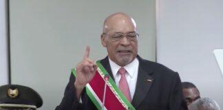 Bouterse in jaarrede 2020: uitslag verkiezingen accepteren en respecteren!