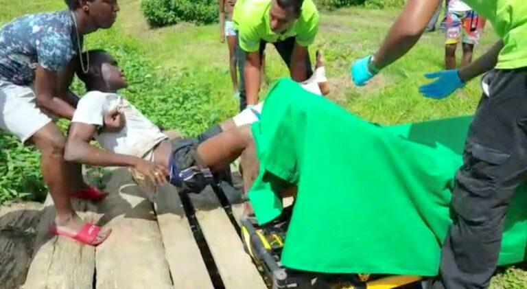 VIDEO: Militair schiet op zijn buren na ruzie