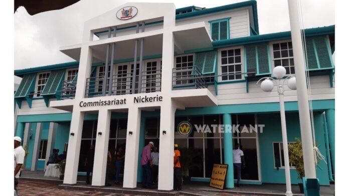 Nieuw gebouw districtscommissariaat Nickerie in gebruik genomen