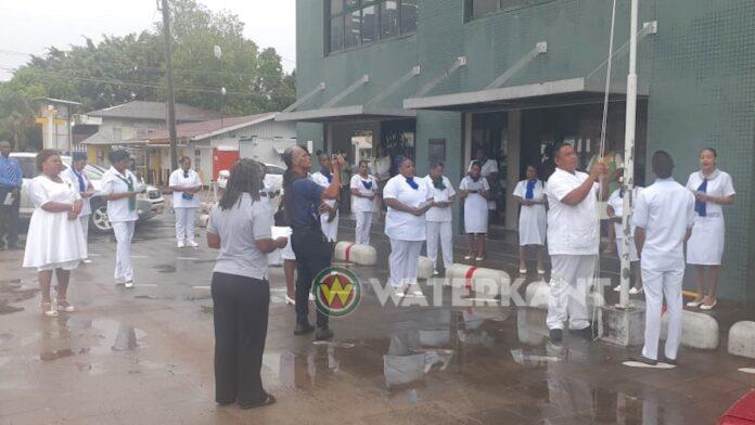 RGD Suriname staat stil bij 'Dag van de Verpleging' vandaag