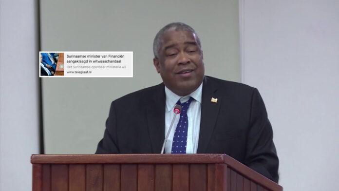 Minister Hoefdraad eist weer rectificatie bericht, dit keer van De Telegraaf