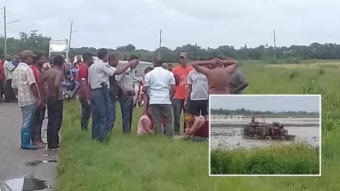 Jongeman overleden na kantelen tractor