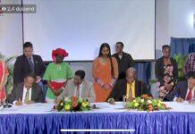 Coalitie partijen ondertekenen samenwerkingsovereenkomst
