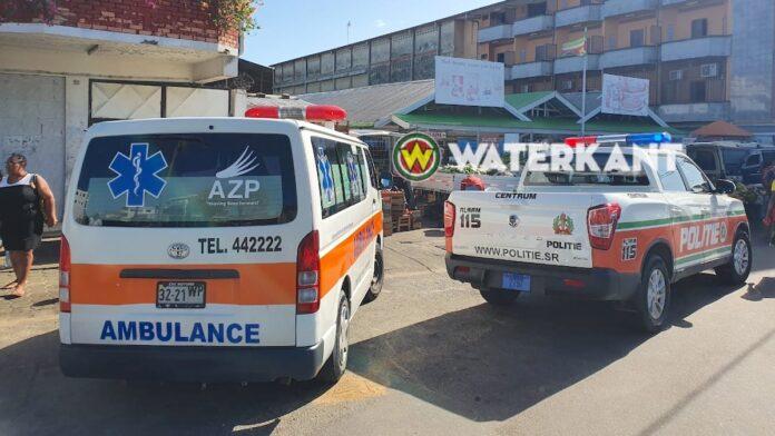 Door politie gelost waarschuwingsschot ketst af en raakt onschuldige omstander