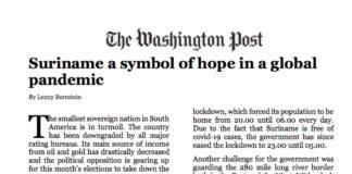 Journalist ontkent positief stuk over Suriname in Washington Post te hebben geschreven