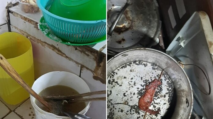Weer smerig restaurant in Suriname gesloten