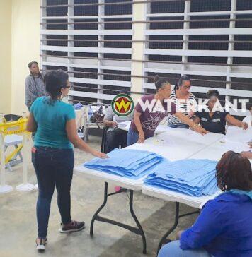 stemlokaal in Suriname