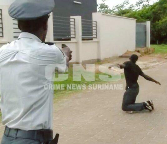 verdachte-aangehouden-politie-suriname