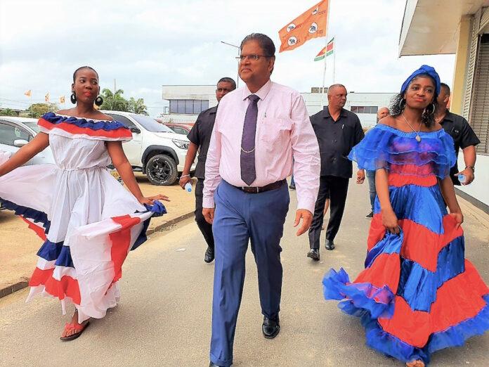 Samenwerking VHP en Haïtiaanse gemeenschap in Suriname