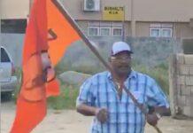 Politie roept politieke partijen op om van elkaars vlaggen af te blijven