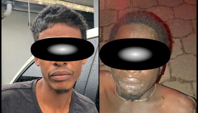 Verdachte inbrekers aangehouden door politie Suriname
