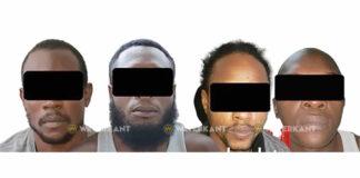 Inbraak verdachten aangehouden en in verzekering gesteld
