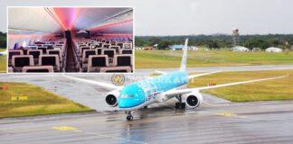 KLM vliegt gestrande reizigers met nieuwe Boeing Dreamliner 787-10 naar Schiphol