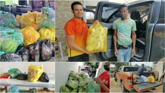 SUPPORT-SU gestart met distributie COVID-19 voedselpakketten
