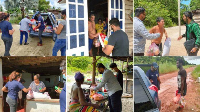 Social Caring Organization Suriname verstrekt wederom 100 noodpakketten