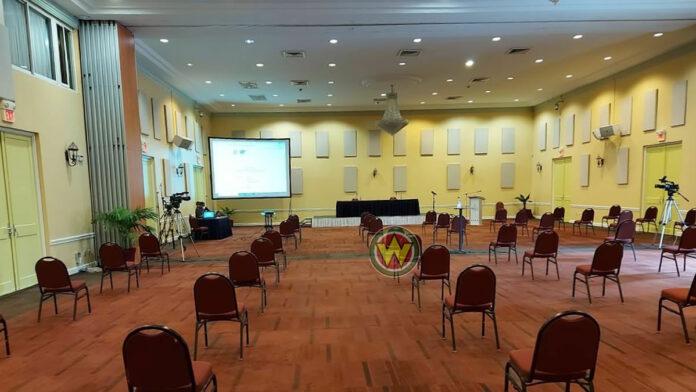 VIDEO: Openbare zitting van het Onafhankelijk Kiesbureau Suriname