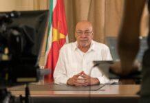 President Bouterse is gewoon in Suriname, niet in het buitenland