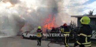 VIDEO: Grote brand te Goede Verwachting
