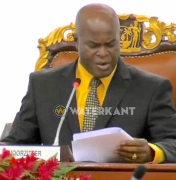 Ronnie Brunswijk nieuwe voorzitter van parlement Suriname