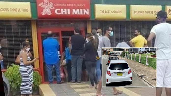 VIDEO: Drukte bij restaurants die niet eens open mogen zijn van districtscommissaris