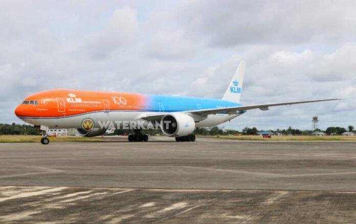 KLM vliegt cargo en passagiers naar Suriname